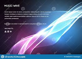 Spectrum Of Light Song Sound Wave Vector Vector Music Voice Vibration Song