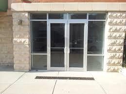 doors installation dundas to exterior glass