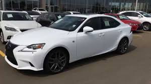 lexus 2015 white. Delighful 2015 2015 Lexus IS 250 AWD F Sport Series 2 Review  Ultra White On Red  Downtown Edmonton YouTube And 0