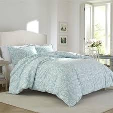 flannel duvet cover set canada scroll blue