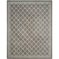 safavieh amherst kelly dark gray beige indoor outdoor moroccan area rug common