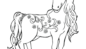 Cute Horse Coloring Pages Zupa Miljevcicom