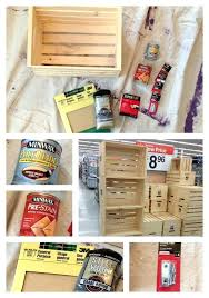 unfinished wooden boxes hobby lobby bookshelf from crates frugal upstate crate project materials