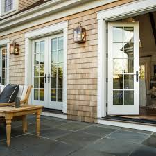 converting garage door into french doors ideas