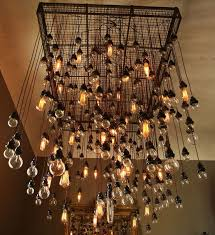 amazing light bulb chandelier modern the most amazing as well as interesting light bulbs for