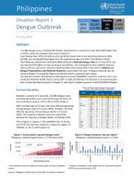Philippines Situation Report 2 Dengue Outbreak 25 July