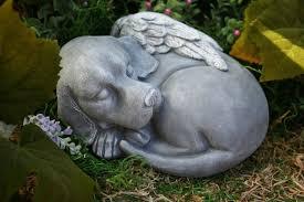 dog garden statue. Modren Dog Dog Angel Statue  Beautiful Pet Memorial Garden Sculpture 4999 Via  Etsy On O