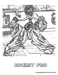 Small Picture Stunning Coloring Pages Hockey Players Nhl Ideas New Printable