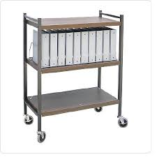 Omnicart Vertical Chart Rack Steel 43 3 4 H X 34 1 2 W X 17 D 3 Shelves Chart Rack 10cap Color Each Model 260001