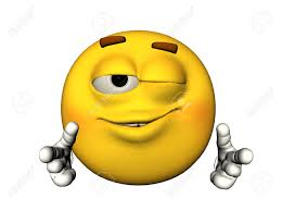 3d Illustration Of A Winking Emoticon Stock Photo Picture And