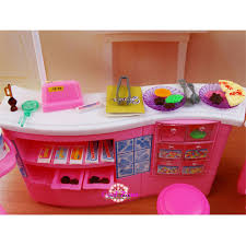 Miniature Furniture Candy & Ice Cream Shop for Barbie Doll House