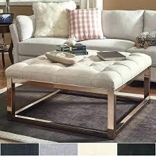 coffee table storage ottoman wonderful ottoman and coffee table square base ottoman coffee table champagne gold coffee table