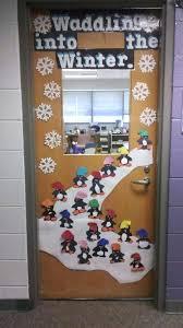 Winter Door Decorations School Doors On Classroom Door School Door