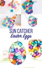 Suncatcher Easter Egg Craft Diy Und Selbermachen Basteln