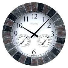 medium size of wall decor large outside clocks outdoor train clock led nice extra c garden outdoor garden clocks large