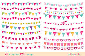 Party Banners 20 Png Images Graphic By Lattesmile Creative Fabrica
