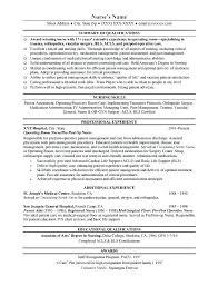 Registered Nurse Curriculum Vitae Sample Awesome Free Resume Template Best Format For Nurses Curriculum Vitae