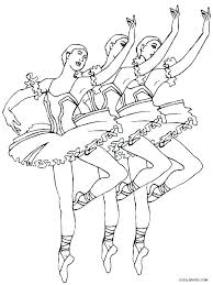 coloring pages ballerina coloring pages free ballet positions good page fee r swan lake color