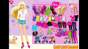 play game barbie dress up