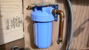 diy whole house water filter. Plumbing Attachments To The Input And Output Side Of Filter Housing Head. Mounting Bracket. Diy Whole House Water E