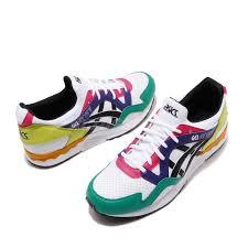 Details About Asics Tiger Gel Lyte V White Black Pink Green Men Running Shoes 1191a227100