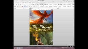 How To Create A Diary In Word How To Make Your Own Book Cover Using Ms Word Youtube