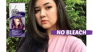 Dyeing My Dark Hair Purple Without Bleach