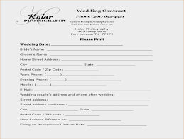 5+ Wedding Photography Contract Template | Timeline Template | Easy ...