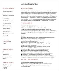 Accountant Resume Sample Stunning Accountant Resume Sample Pdf Musiccityspiritsandcocktail