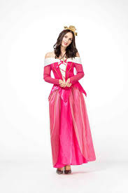 Halloween Câu Chuyện Cổ Tích Công Chúa Aurora Đỏ Hồng Đầm Nữ Hoàng ...