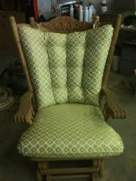 4 post glider rocker cushion set by cjscozycushions on etsy 115 00