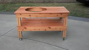 grill table plans diy pencil post bed frame