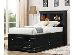 Full Size of Bedroom:charming Laguna Hills Black Queen Storage Platform Bed,  Cm7652l Q ...