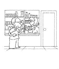 De Apotheek Hier Kun Je Medicijnen Halen Kleurplaat Jouwkleurplaten