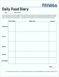Food Log Spreadsheet Calorie Spreadsheet Template Food Calorie