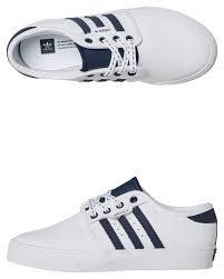 adidas kids seeley leather shoe