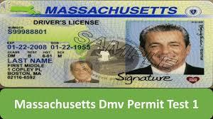 Permit Massachusetts Test 1 Dmv Youtube -