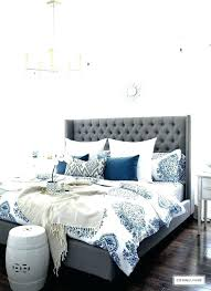 blue and white bedding bedroom navy grey lovely best sets uk blue and white bedding