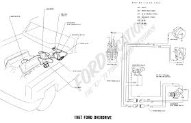 ford truck technical drawings and schematics section h wiring 1967 ford overdrive