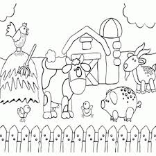 Printable Preschool Coloring Page Of Happy