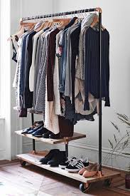 Storage & Organization: Industrial Pipe Coat Rack Design - Pipe Ideas