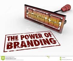 brand image power of branding iron words marketing identity trust royalty free stock image