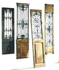 old door decor old doors as wall decor door decoration best wrought iron images on sliding