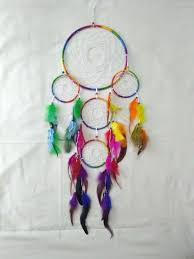 Buy A Dream Catcher Buy dream catcher multicolored five circle wall hanging home decor 75