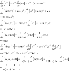 composition rule for derivatives