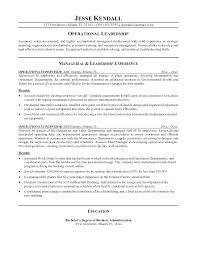 Electrical Supervisor Resume Apartment Maintenance Technician Resume