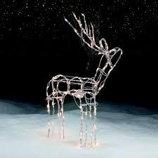 48 animated standing christmas deer wild holidays at kmart