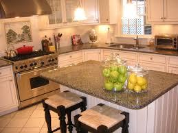 Granite Kitchen Countertop With White Cabinets 8