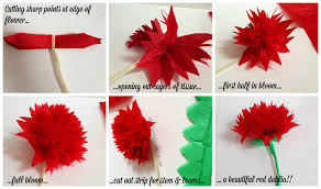 How To Make A Flower Out Of Paper Step By Step Classroom Decor Make Your Own Paper Flowers Speech Room Style