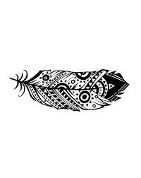 navajo tattoo designs. NAVAJO FEATHER On Http://dcer.eu Navajo Tattoo Designs A